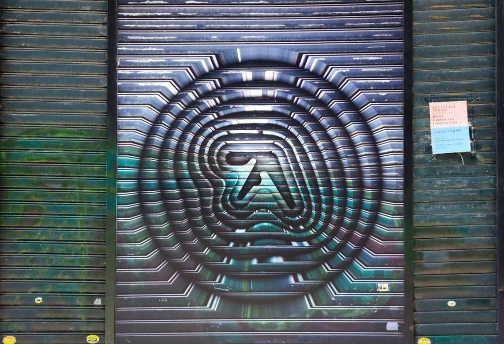 Il logo di Aphex Twin invade a sorpresa Londra e Torino | Collater.al 1