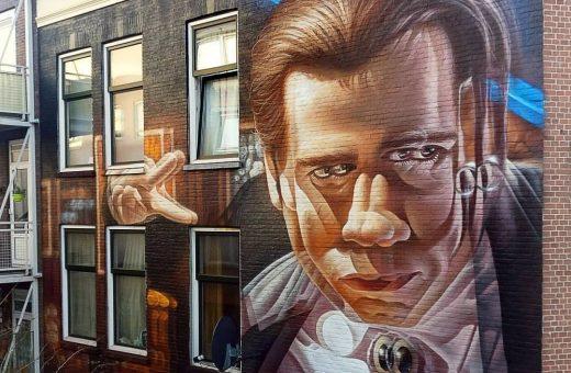 La street art incontra il 3D nei murales di Insane51