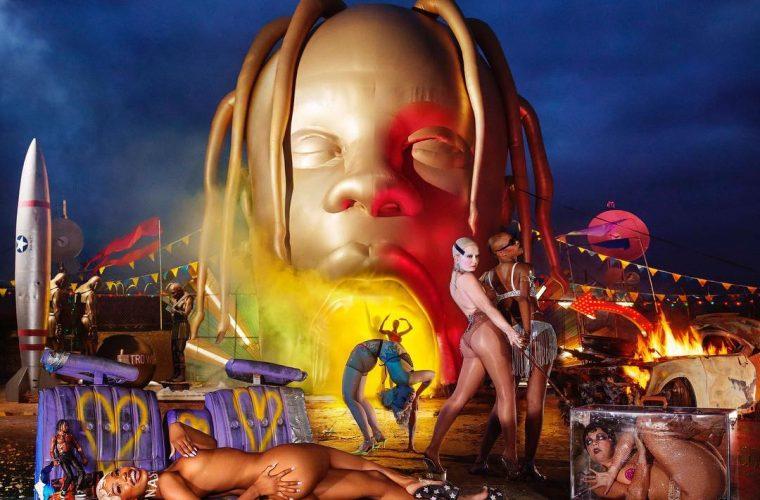 La copertina di Astroworld di Travis Scott è diventata un meme