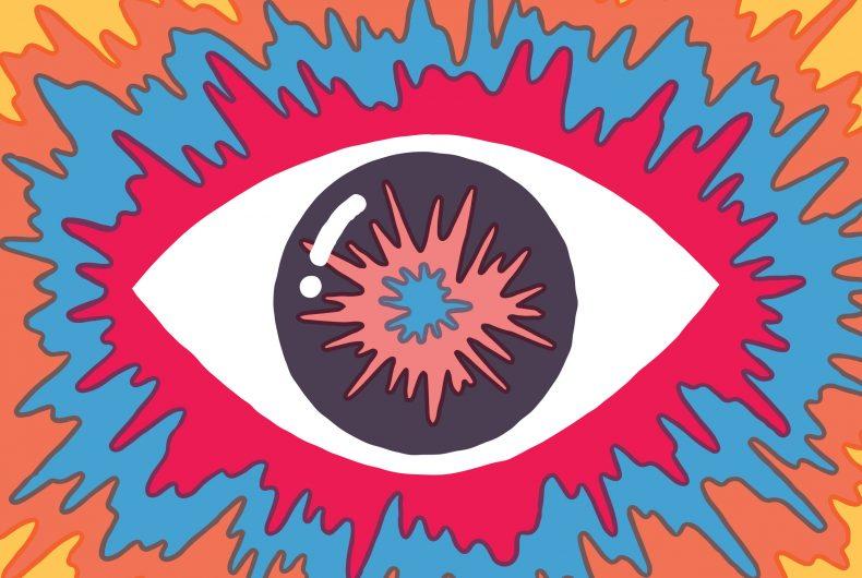 Le illustrazioni psichedeliche e spensierate di Tim Lahan