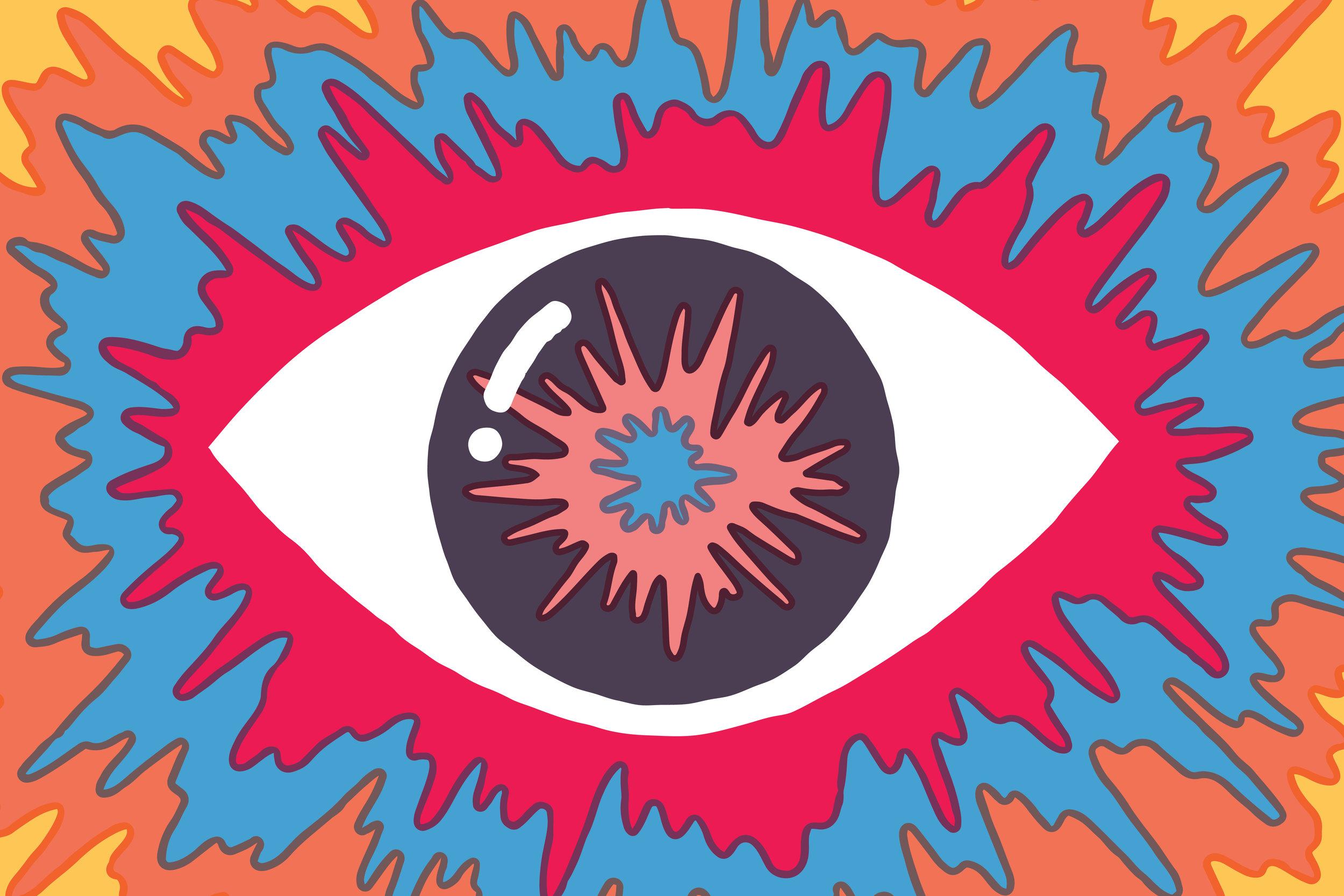 Le illustrazioni psichedeliche e spensierate di Tim Lahan   Collater.al 8
