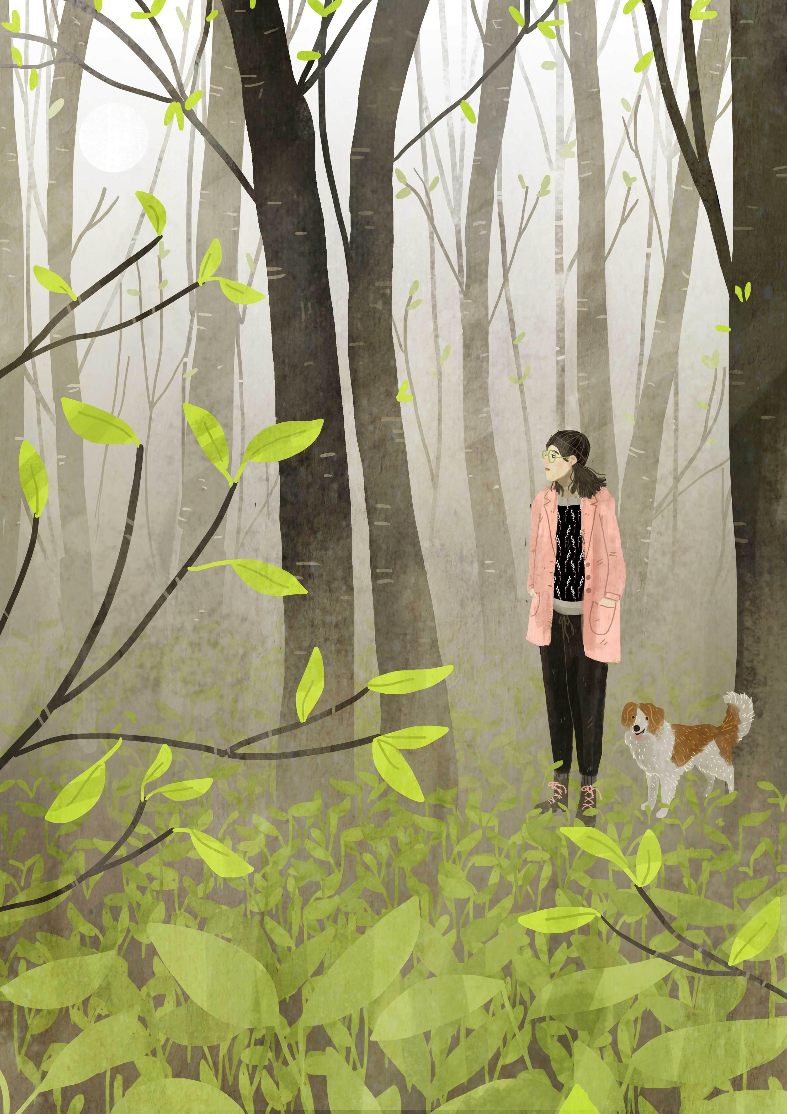 Le illustrazioni sotto la pioggia di Lara Paulussen | Collater.al 4