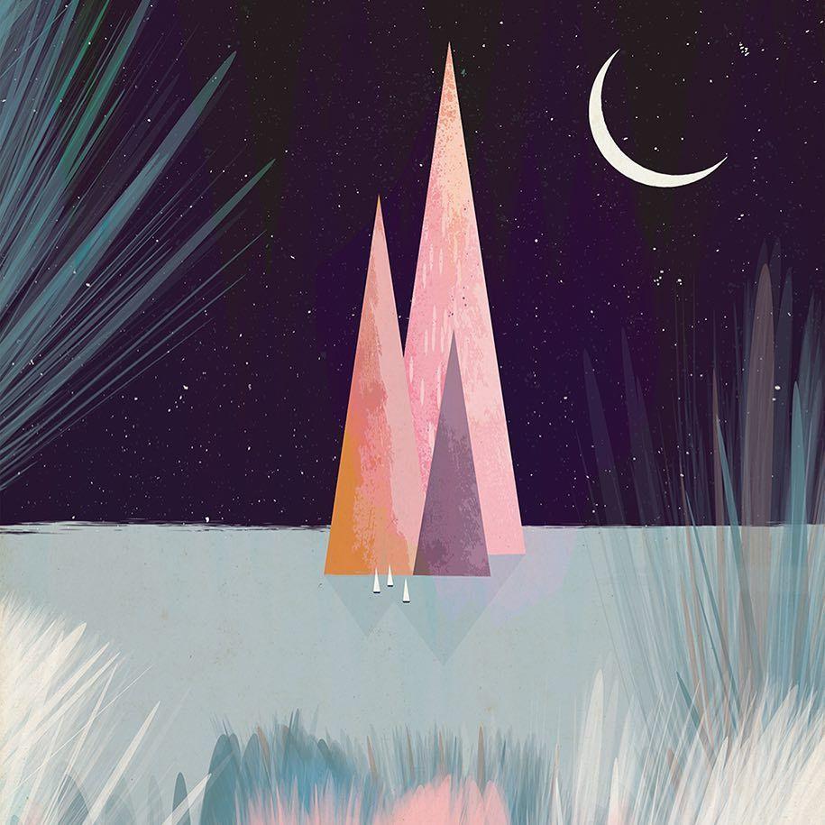 Lo stile inconfondibile delle illustrazioni di Andrew Bannecker   Collater.al 13