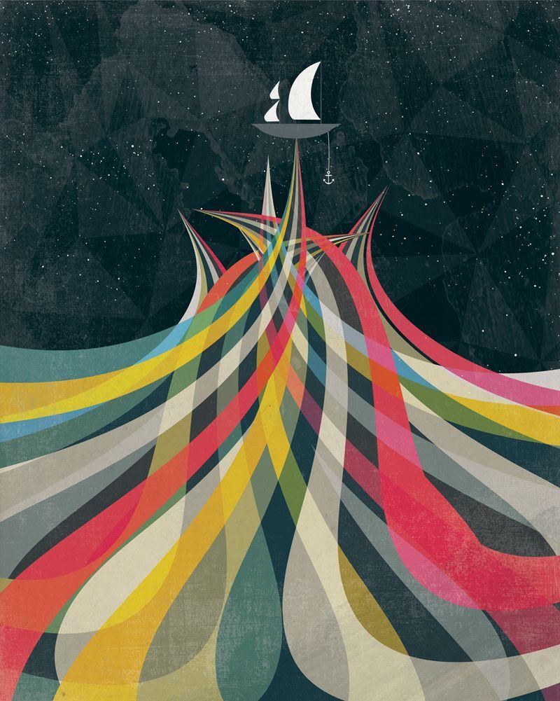 Lo stile inconfondibile delle illustrazioni di Andrew Bannecker   Collater.al 5