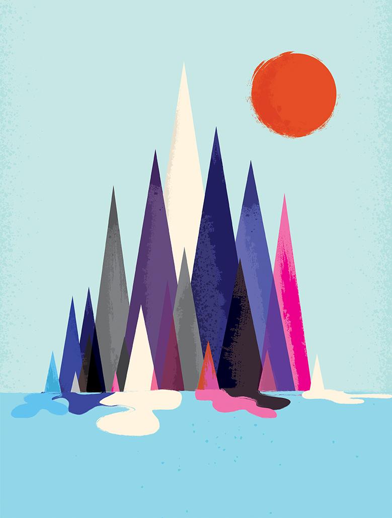 Lo stile inconfondibile delle illustrazioni di Andrew Bannecker   Collater.al 8