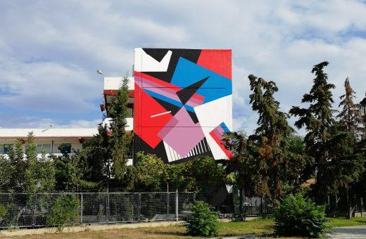 Natura Razionale, il nuovo murales di Greg Jager ad Atene