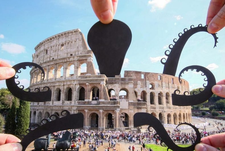 I fantastici ritagli di Paperboyo conquistano Instagram
