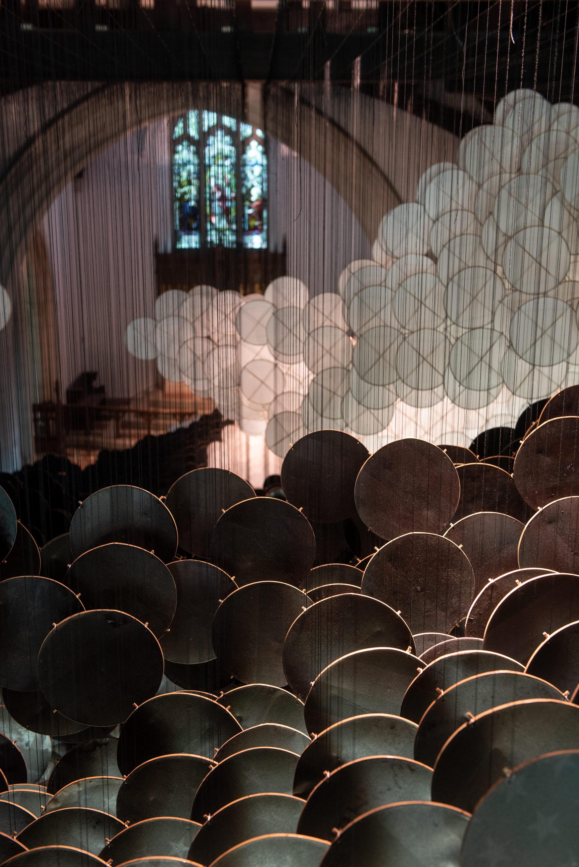 The Eclipse è la suggestiva installazione di Jacob Hashimoto   Collater.al 6