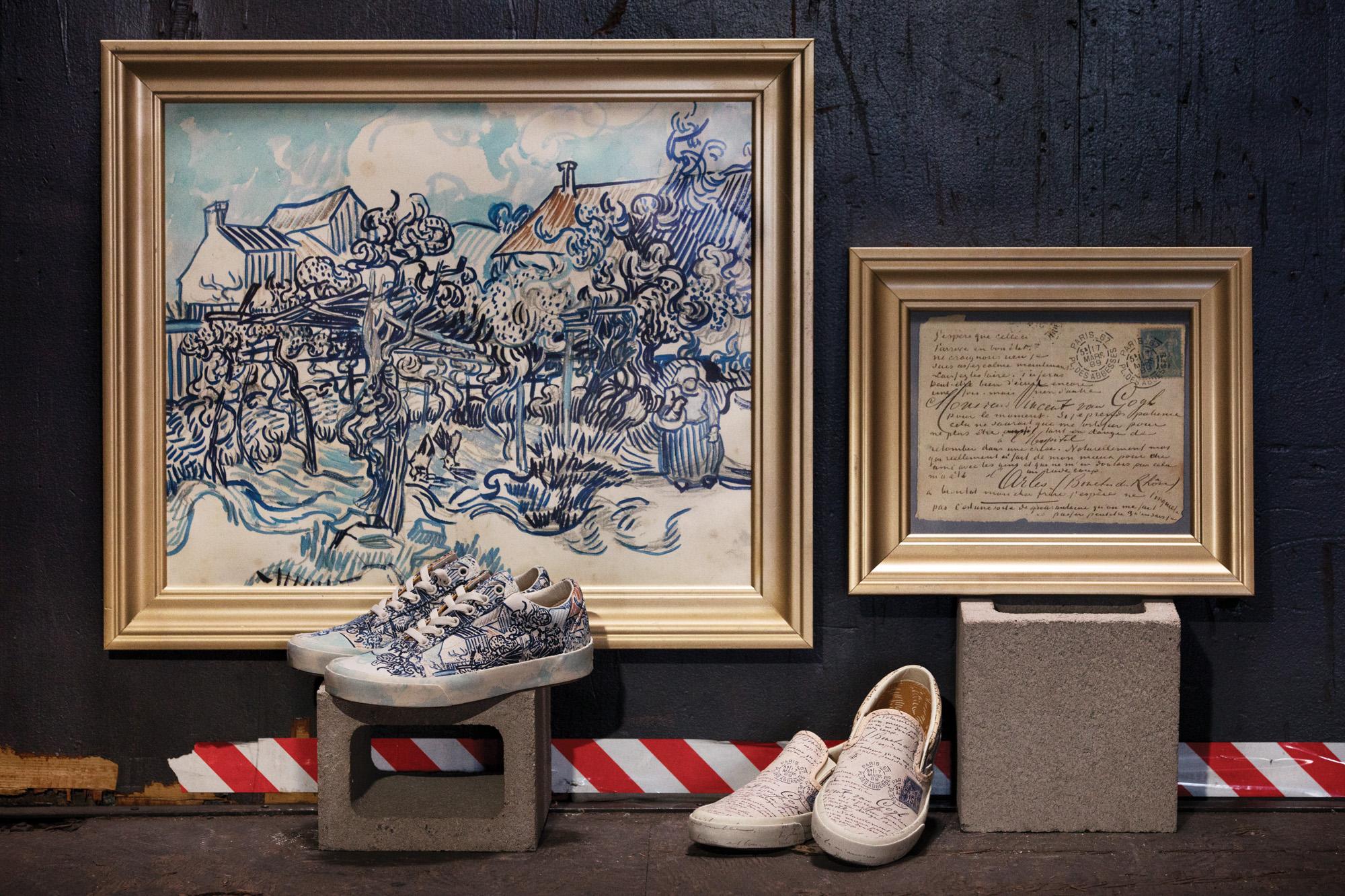 Vans x Van Gogh | Collater.al