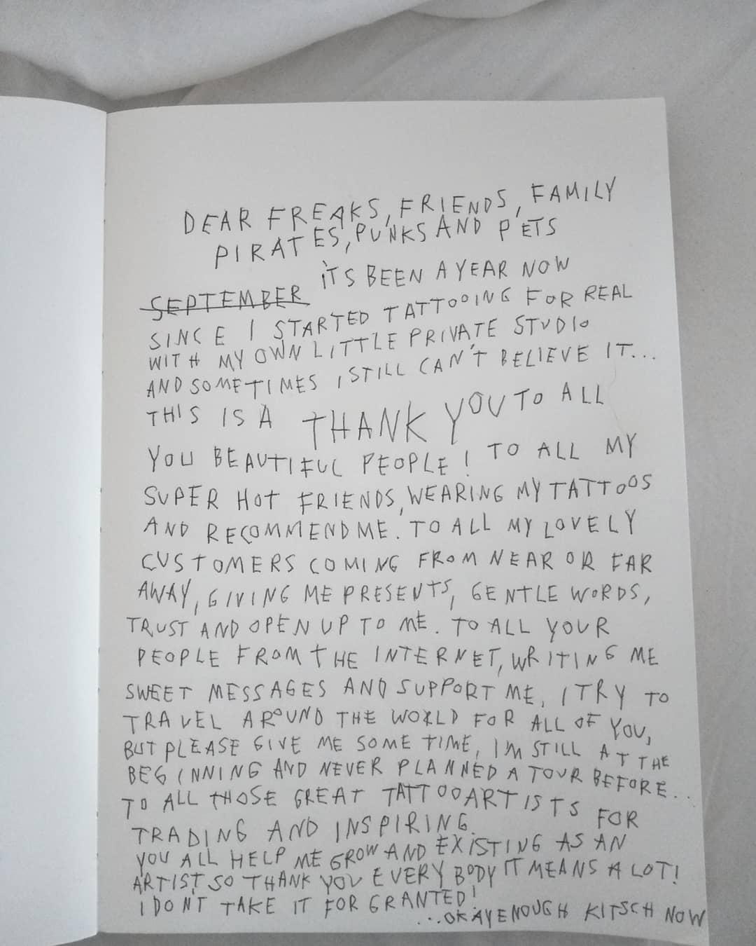 La tua pelle come un diario: i tatuaggi di Linda Werner | Collater.al