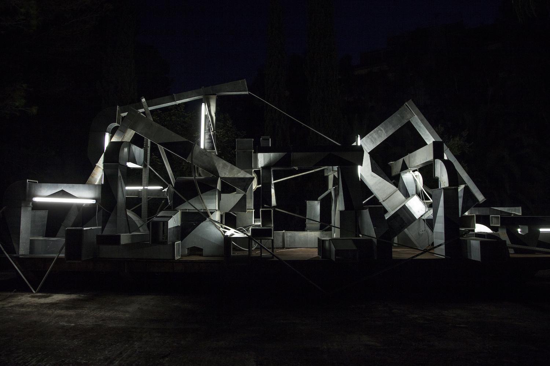 Clemens Behr ci ha raccontato la sua installazione per il FestiWall 2018 | Collater.al