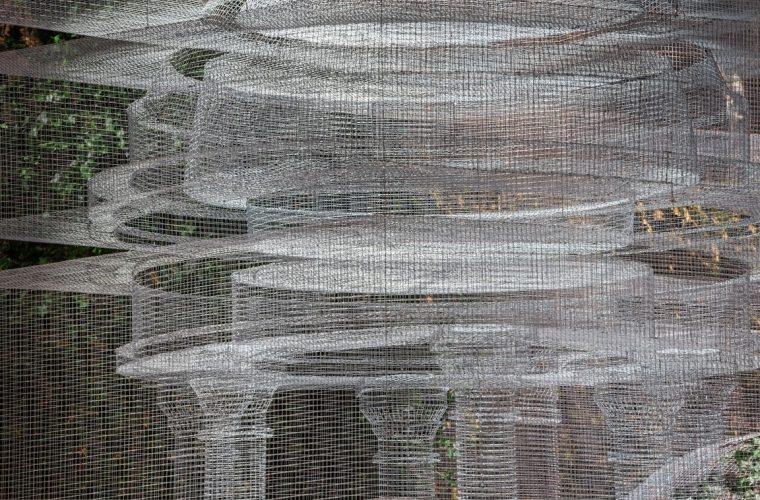 Cube Temple, Edoardo Tresoldi torna con un'imponente installazione