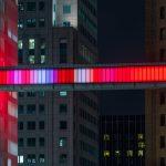 Detroit Skybridge, i blocchi luminosi di colore di Phillip K Smith III | Collater.al 7