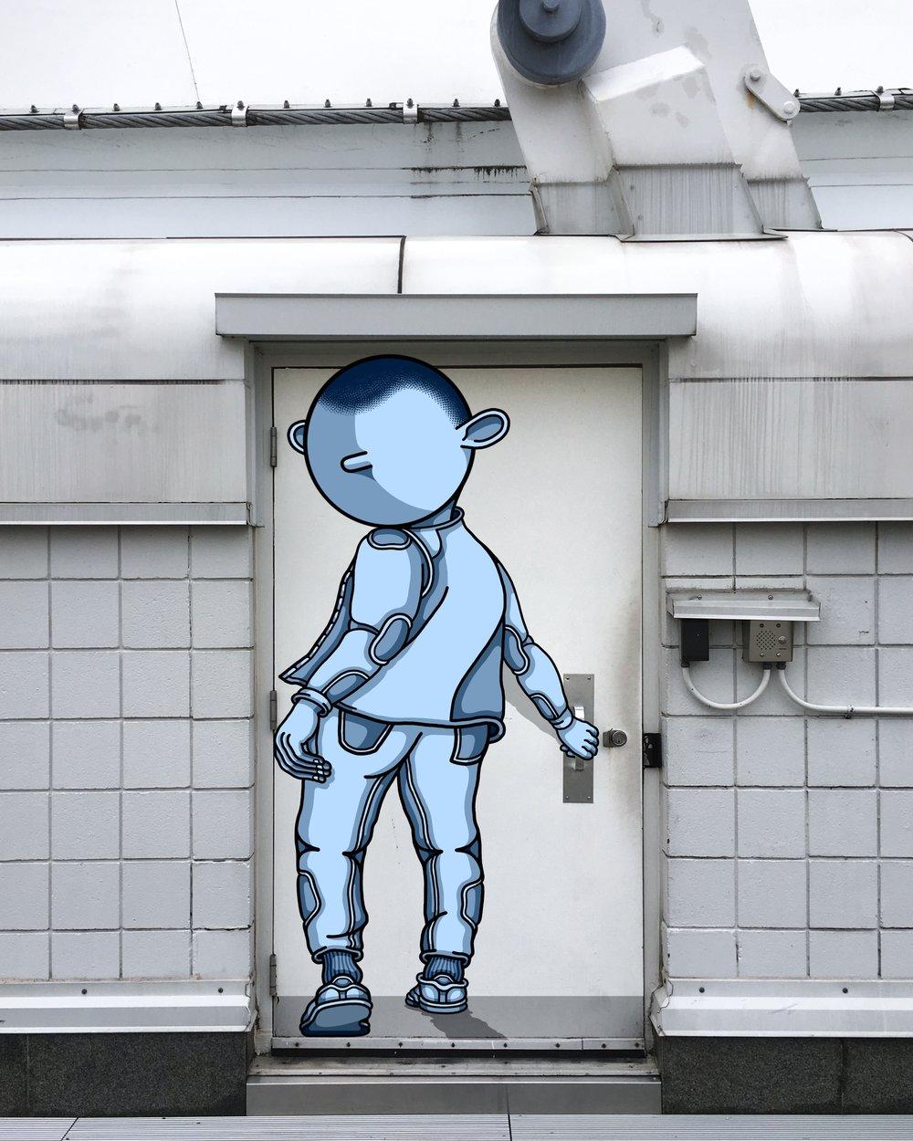 Digital Mural quando la tecnologia incontra la street art | Collater.al
