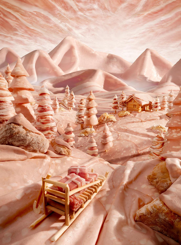 Foodscapes di Carl Warner e se potessi mangiarti un paesaggio   Collater.al