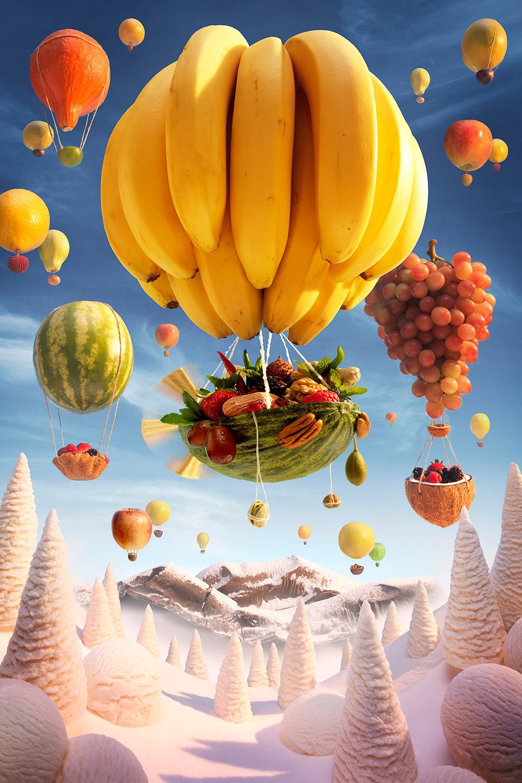 Foodscapes di Carl Warner e se potessi mangiarti un paesaggio | Collater.al