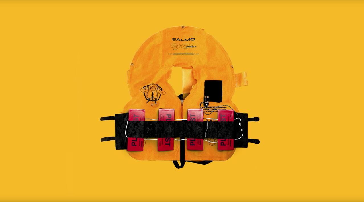 Fuori ora 90 MIN, il nuovo singolo di Salmo prodotto da Ron Feemster