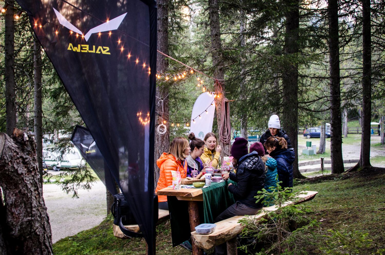 Girls Dolomites Basecamp | Collater.al