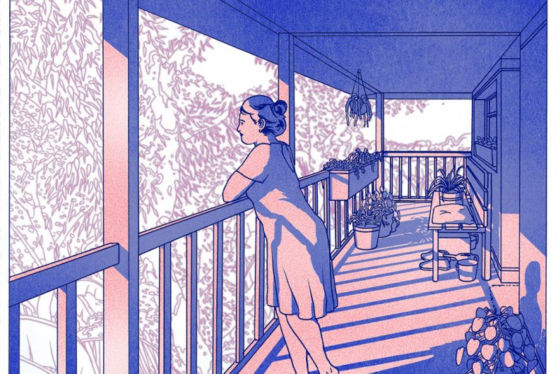 Comic book artist Liam Cobb and his architectural illustrations