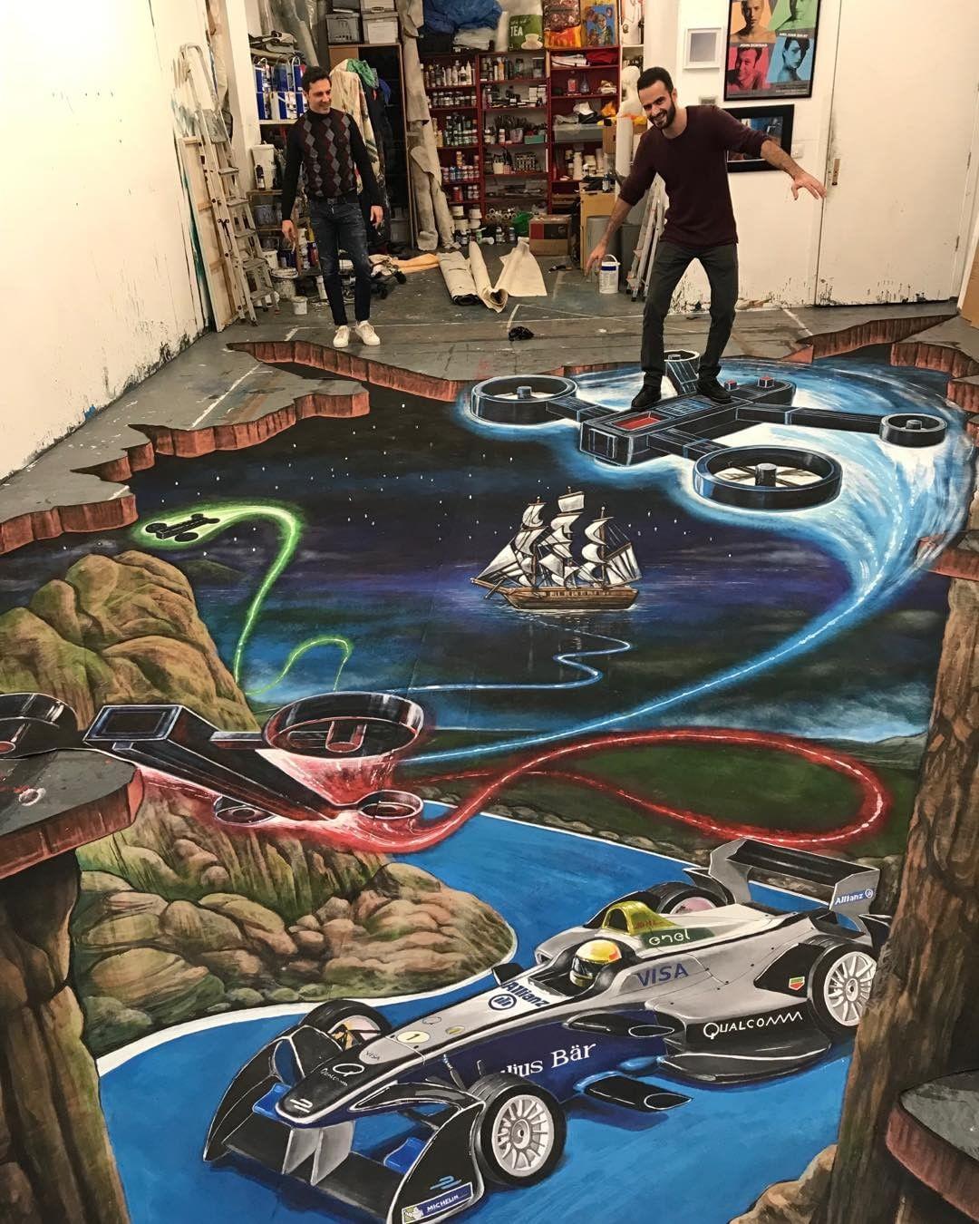 Joe Hill aka 3Djoeandmax e I murales che illudono lo sguardo | Collater.al