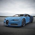 LEGO Technic Bugatti Chiron interamente costruita con i mattoncini del LEGO | Collater.al 5