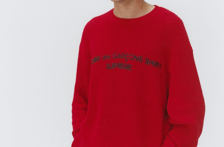 La nuova collezione Supreme x COMME des GARÇON SHIRT
