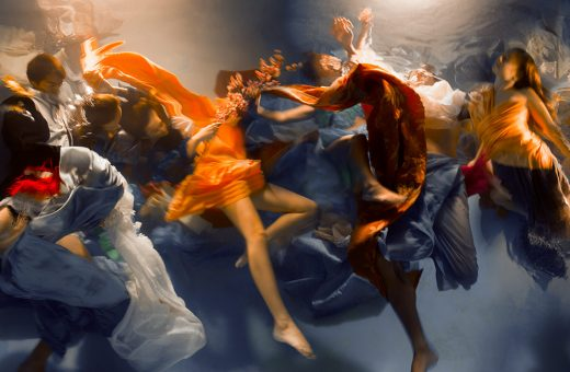Underwater photographs that look like paintings by Christy Lee Rogers
