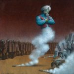 Le illustrazioni satiriche firmate Pawel Kuczynski | Collater.al 5