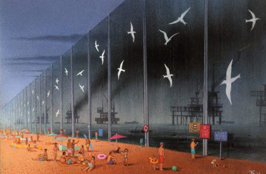 Le illustrazioni satiriche firmate Pawel Kuczynski