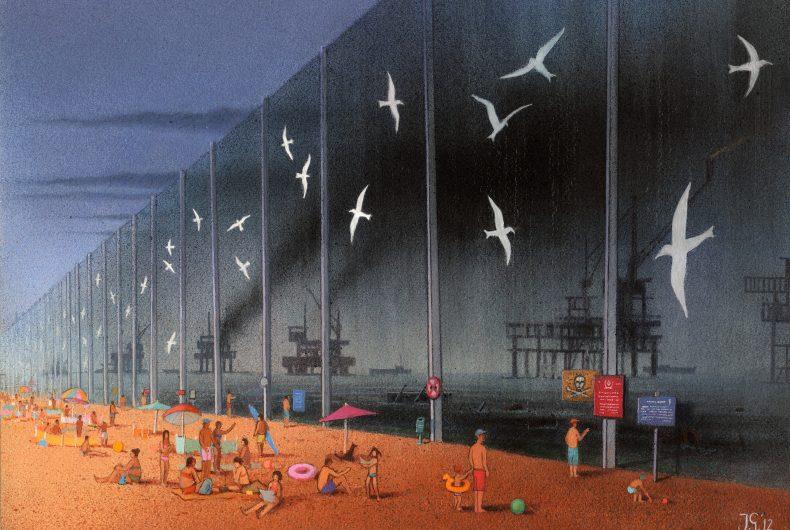 Pawel Kuczynski realized satirical illustrations