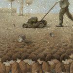 Le illustrazioni satiriche firmate Pawel Kuczynski   Collater.al