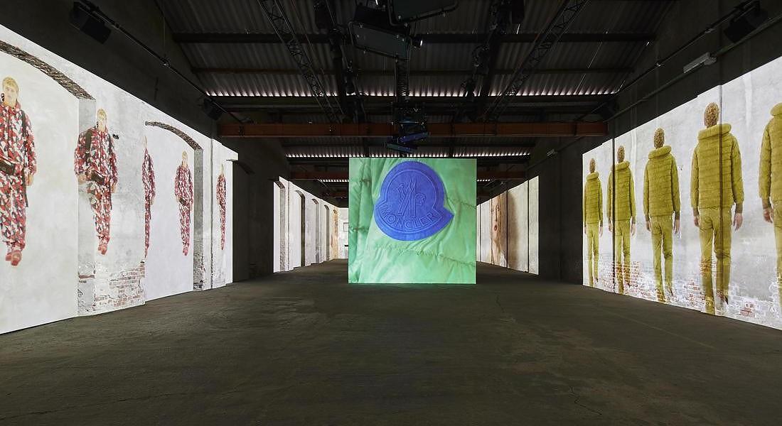 L'incredibile installazione d'arte di Moncler Genius | Collater.al