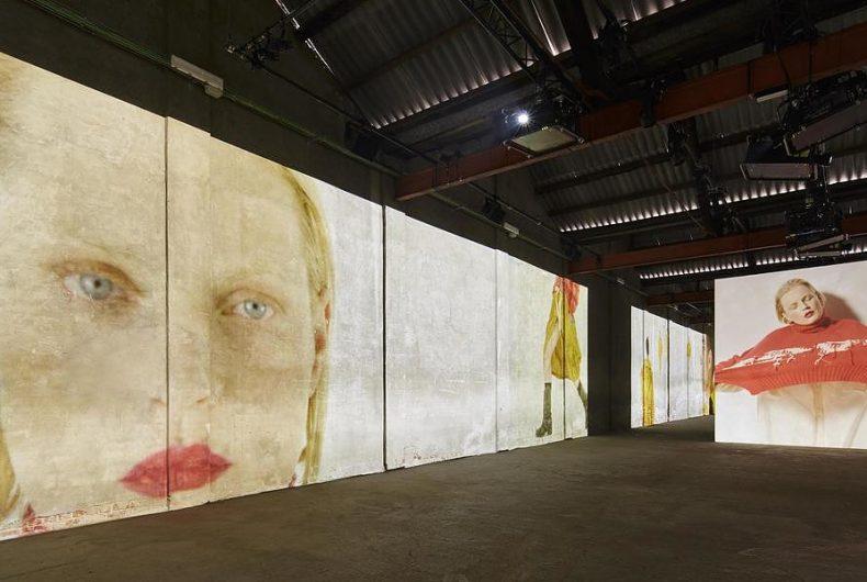 L'incredibile installazione d'arte di Moncler Genius