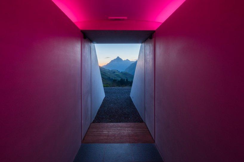 L'installazione di James Turrell tra le montage austriache   Collater.al