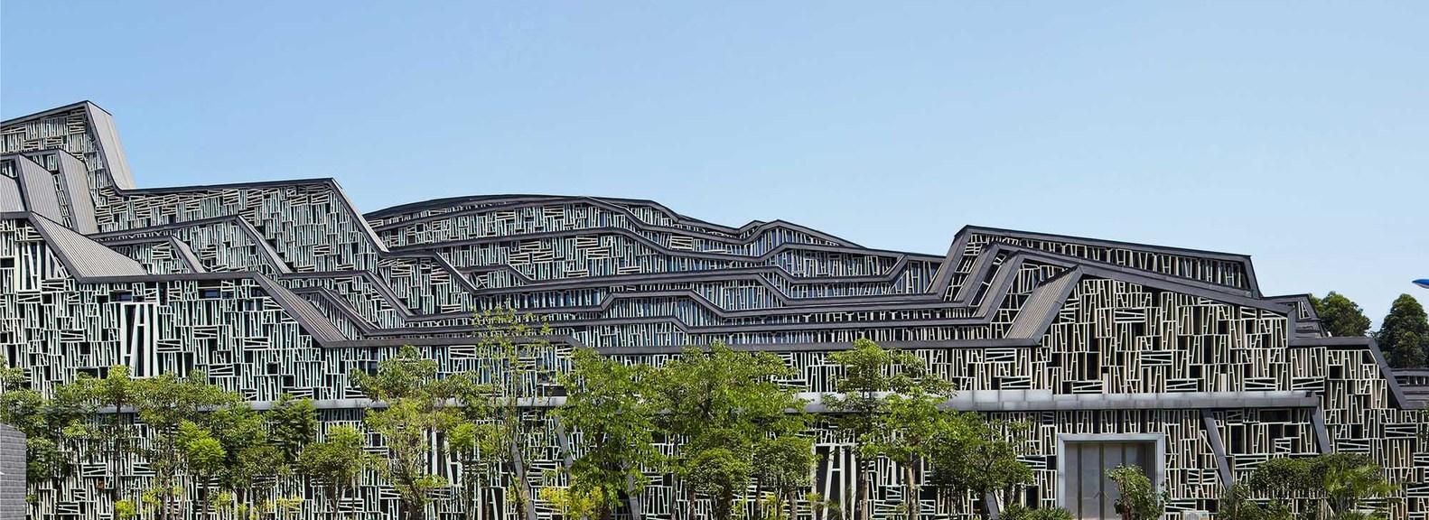 Liuzhou Suiseki Hall | Collater.al