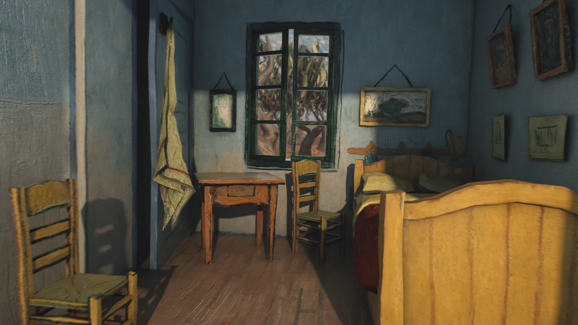 Short video for Breakfast – No Blue Without Yellow, un viaggio nei quadri di Van Gogh