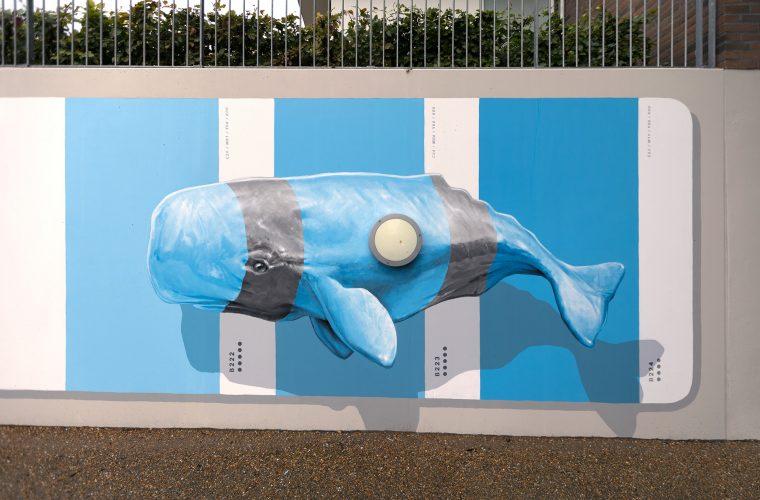 Nuances Selection, l'intervento di street art firmato NEVERCREW