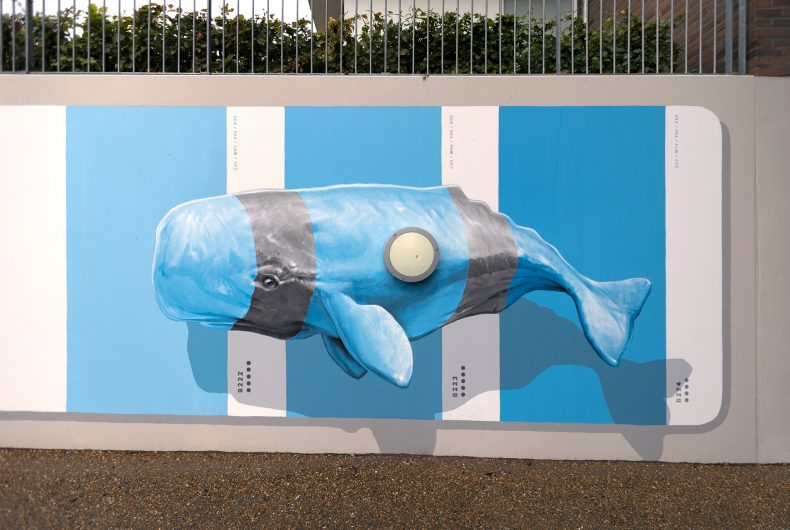 Nuances Selection, the street art intervention by NEVERCREW
