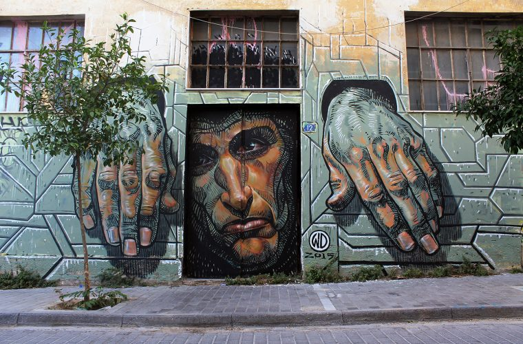 Oltre il muro, la street art di Wild Drawing