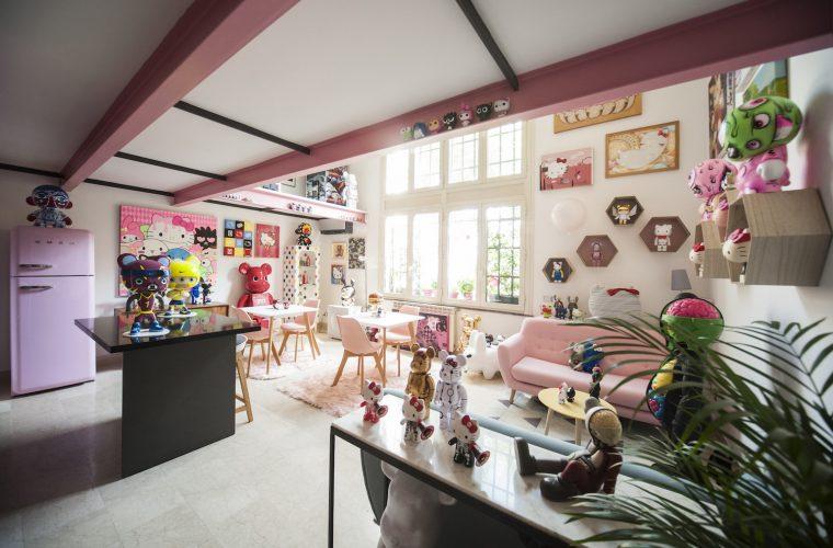 Pink Mill, la cucina romana incontra la cultura pop giapponese