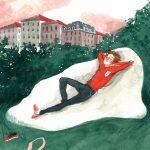 Poesia ed ironia negli acquerelli di Ilaria Urbinati | Collater.al 12