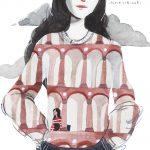 Poesia ed ironia negli acquerelli di Ilaria Urbinati | Collater.al 5