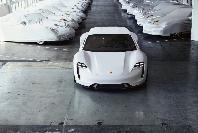 Porsche Taycan, the first full electric Porsche