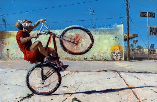 Let's talk about privacy: David Febland's paintings