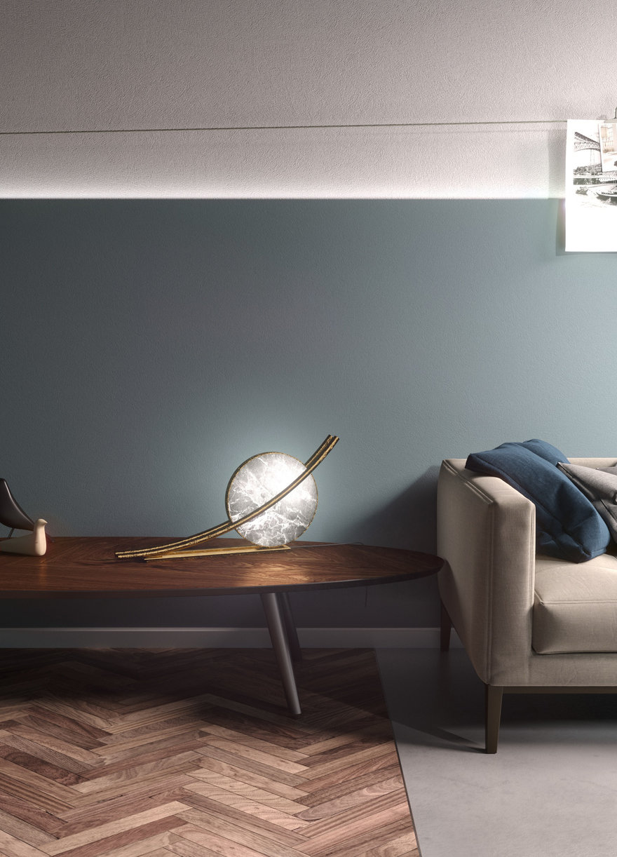 Reverse Pickup Table Lamp | Collater.al