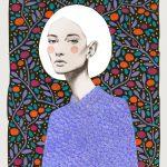 Sofia Bonati racconta le donne su sfondi astratti | Collater.al 14