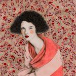Sofia Bonati racconta le donne su sfondi astratti | Collater.al 15