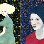 Sofia Bonati racconta le donne su sfondi astratti | Collater.al 6