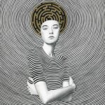 Sofia Bonati racconta le donne su sfondi astratti | Collater.al 8