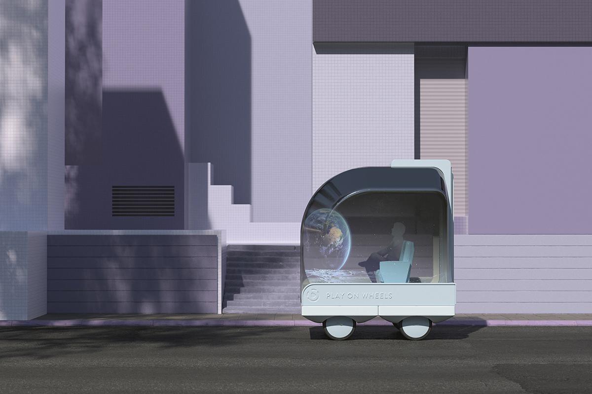 Spaces on Wheels le automobili del futuro di Space10 | Collater.al
